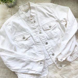 A New Day White Denim Jacket | Medium